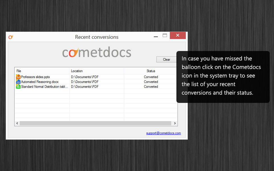 05 Convert Files Online from your Desktop