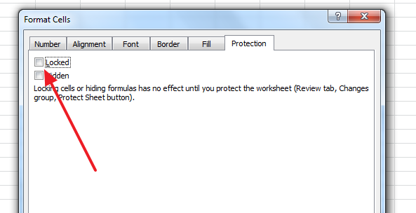 cells are unlocked The Best 3 Ways to Protect Excel Sheets