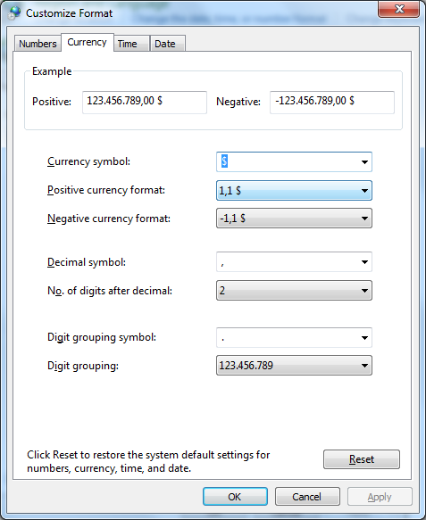 customize format curreny Guide to Working with Currencies in Excel