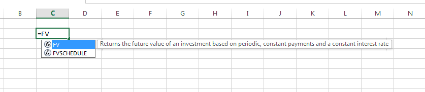 excel future value Example of Future Value Calculation in Excel