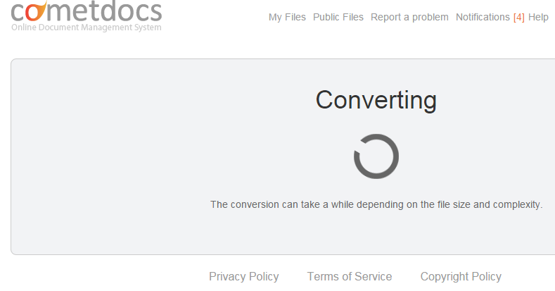 file is converting Cometdocs Releases a New PDF Converter Extension for Google Drive