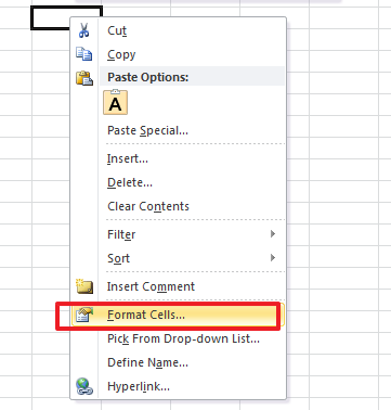format cells excel The Best 3 Ways to Protect Excel Sheets