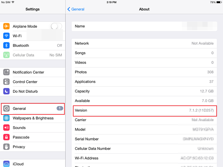 How To See Which Version Of Ios You Have On Your Ipad