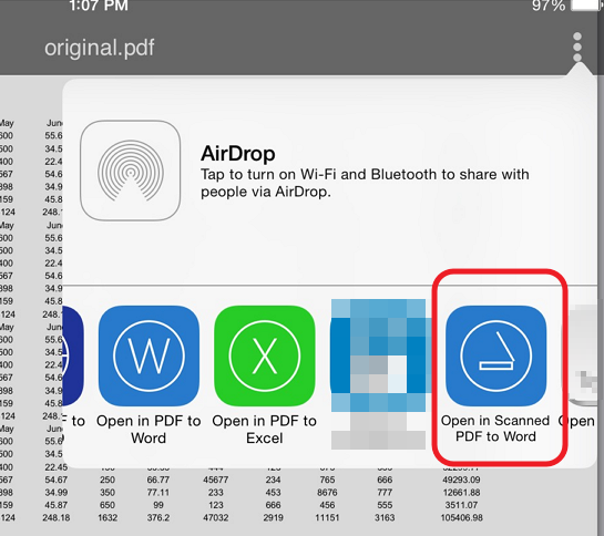 open file in scanned pdf to word How to convert Scanned PDF Documents to Word (iOS)
