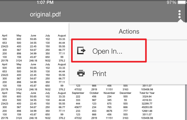 open in menu How to convert Scanned PDF Documents to Word (iOS)