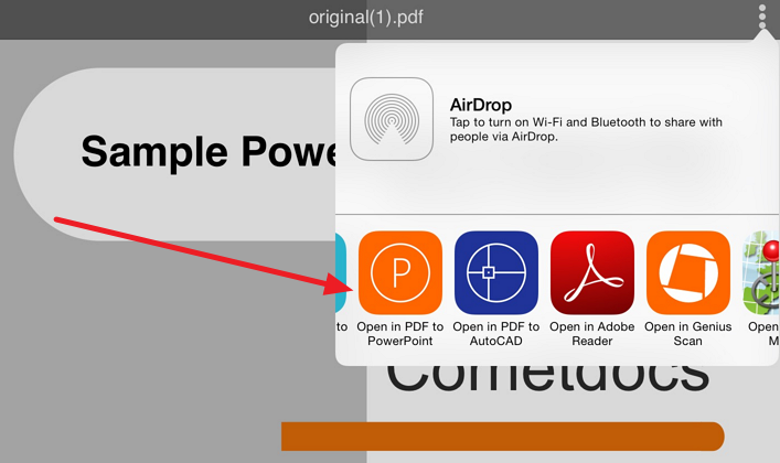open pdf in powerpoint Free PDF to PowerPoint converter for your iPad or iPhone