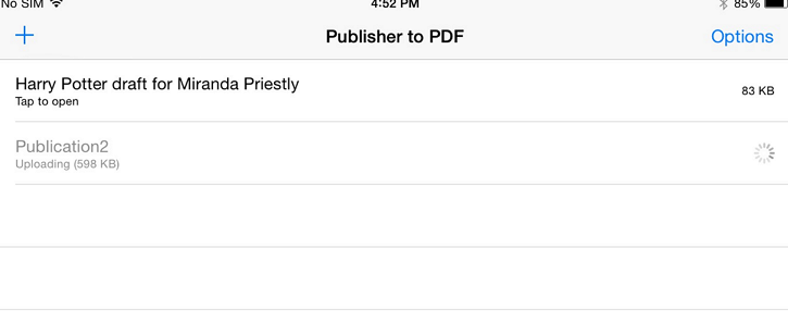open pub format on your computer How to Open the Publisher (.pub) File on Your iPad or iPhone