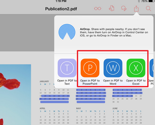 pdf to word excel powerpoint How to Edit Any PDF on Your iPad for Free