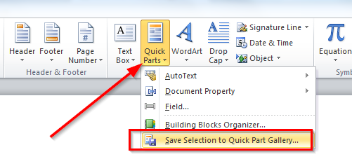 How To Use Quick Parts To Increase Ms Outlook And Word