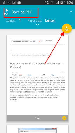 save as pdf google chrome