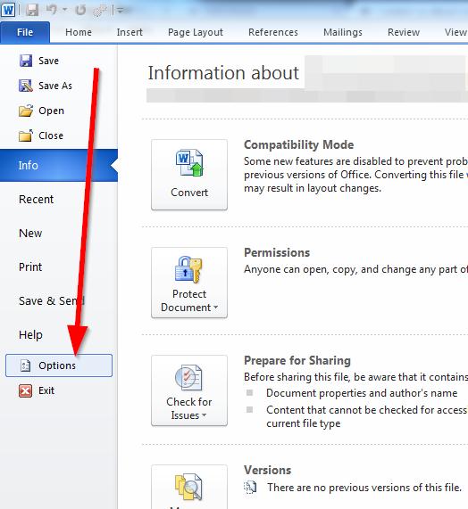 how to change space bar settings microsoft word